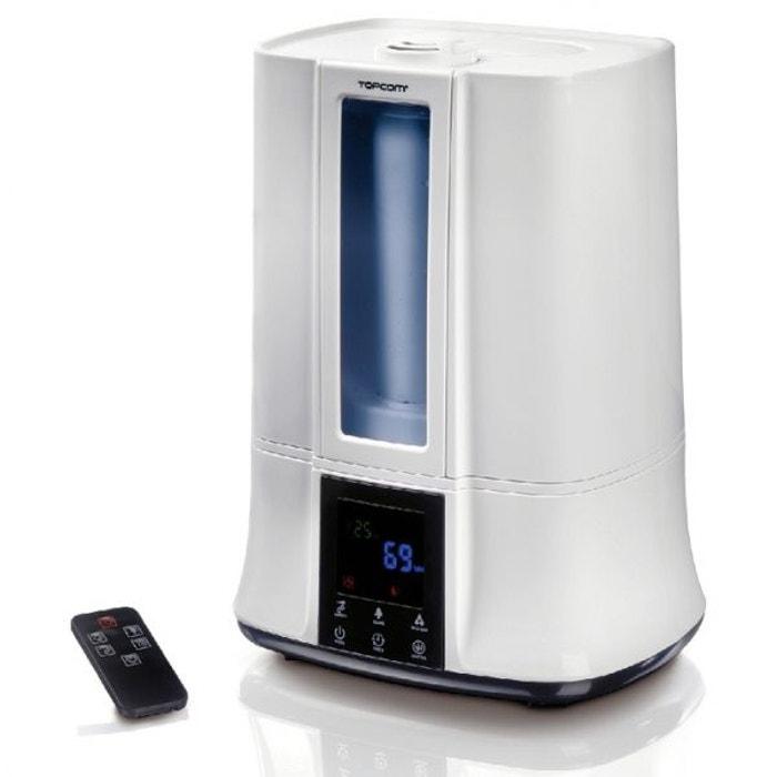 humidificateur de pi ce ultrasonic a vapeur d 39 eau chaude avec t l commande couleur unique. Black Bedroom Furniture Sets. Home Design Ideas