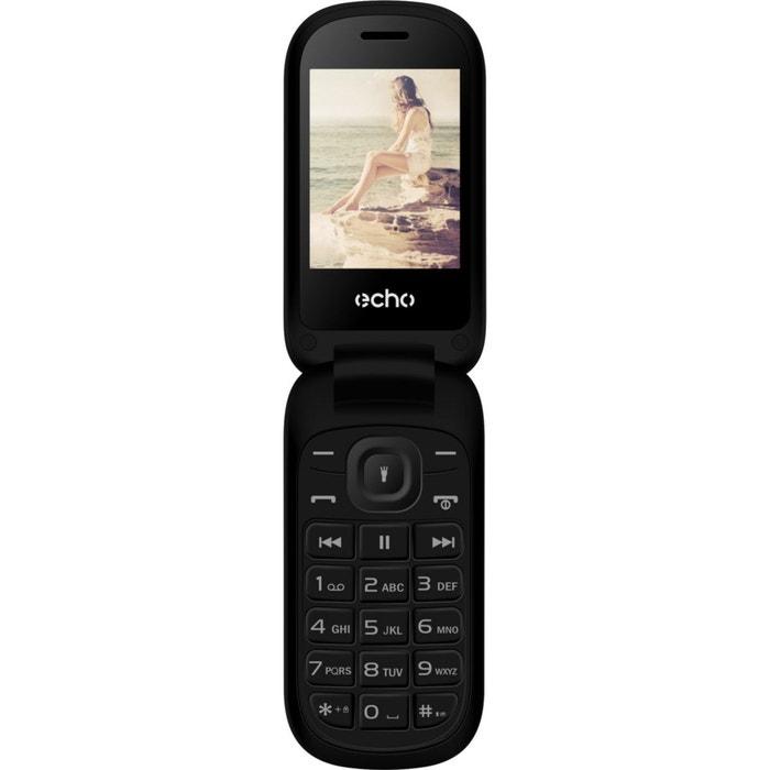 Mobile echo clap plus 2 noir couleur unique echo la redoute - La redoute telephone gratuit ...