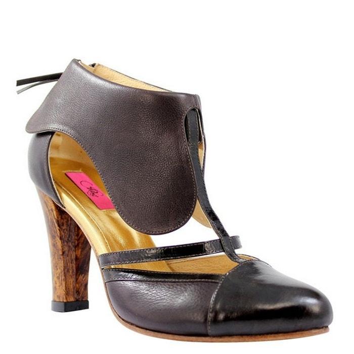 Chaussures femme en cuir PINA uVx7Phs