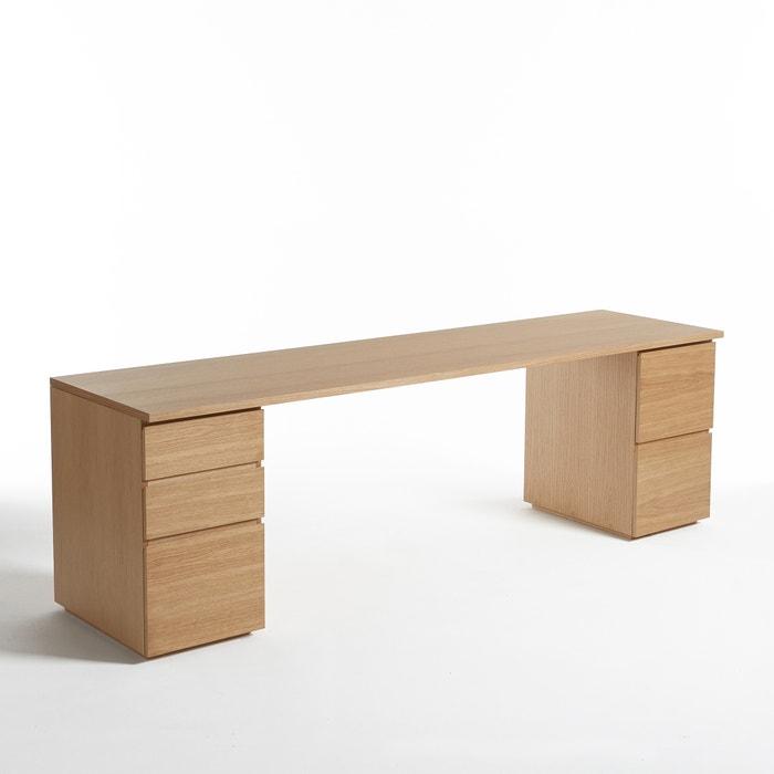 plateau de bureau working larg 250 cm am pm la redoute. Black Bedroom Furniture Sets. Home Design Ideas