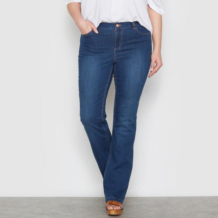 "Stretch Bootcut Jeans, Length 28.5""  CASTALUNA image 0"