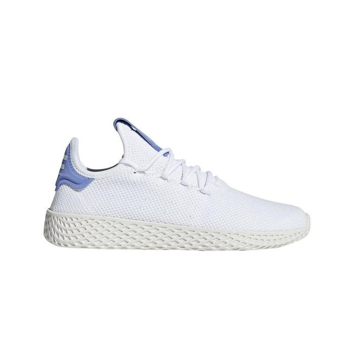 0224bfbbc Baskets pw tennis hu j blanc parme Adidas Originals