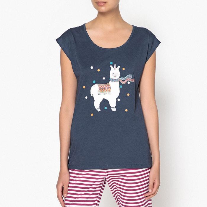 Pyjama en coton, imprimé  LA REDOUTE COLLECTIONS image 0