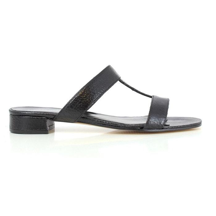 Elizabeth Stuart AMINA 388 NOIR - Chaussures Mules Femme