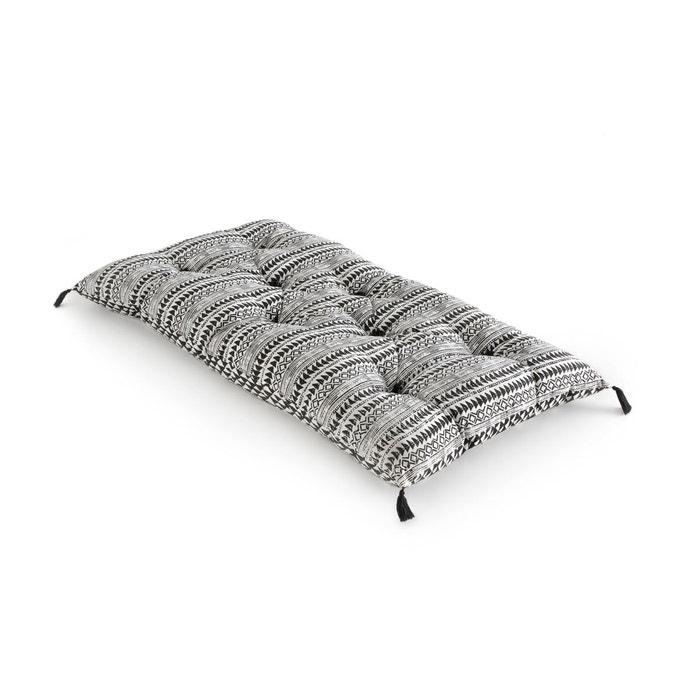 matelas de sol tiebele noir blanc la redoute interieurs la redoute. Black Bedroom Furniture Sets. Home Design Ideas