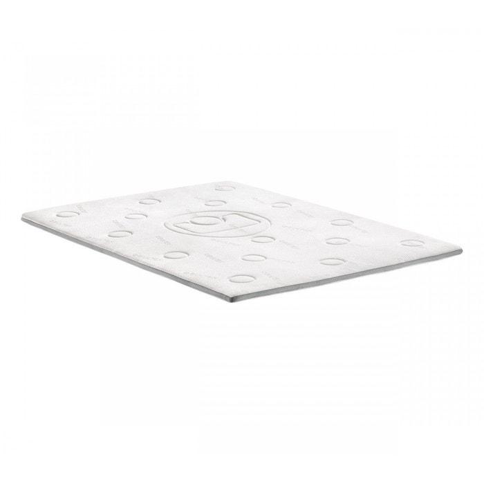 Surmatelas bultex confort m moire de forme 5 cm blanc bultex la redoute - Surmatelas la redoute ...