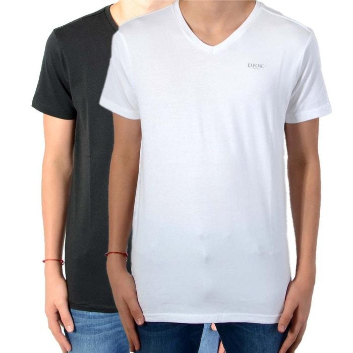 de shirt Kaporal Pack noir 2 noir enfant blanc 5 La grift tee dnwwBzTxZ