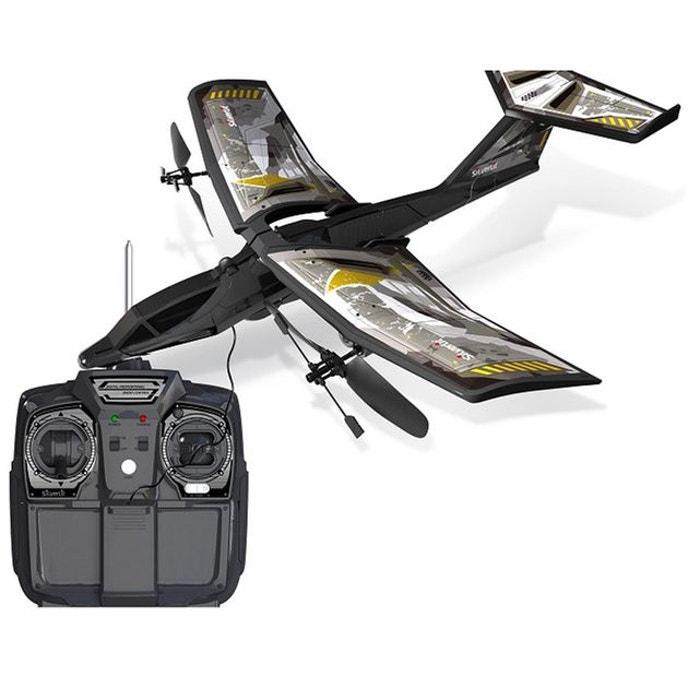 Avion Hélicoptère radiocommandé Power in air : V-Jet Full Tilt : Jaune SILVERLIT