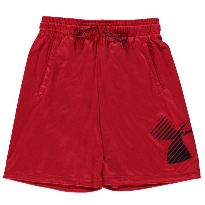 Short sportif taille élastique rouge Under Armour  282e4abc8e8