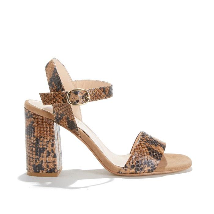sandale compensée noire jonak pointure 35