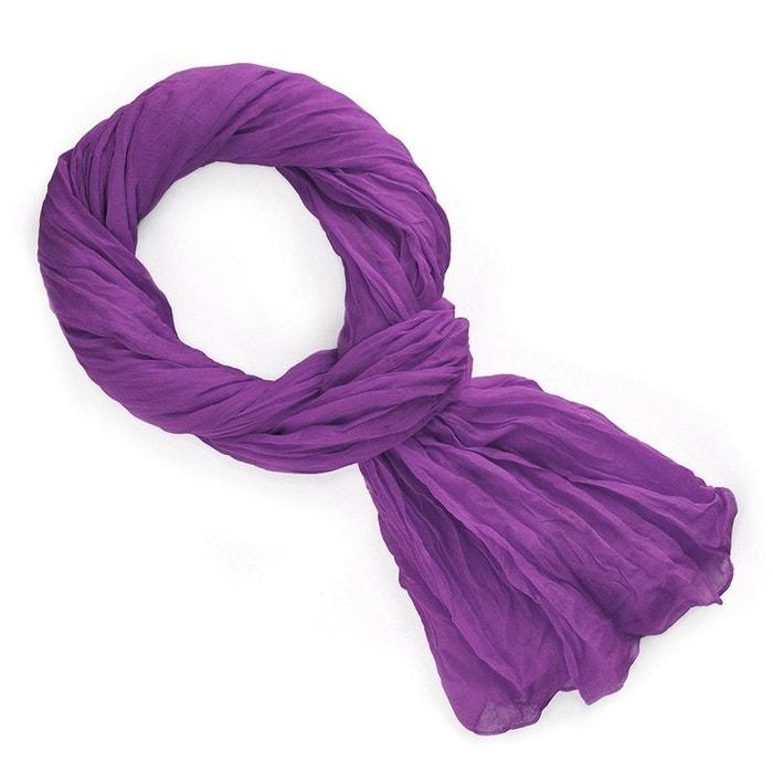 3522ec45855d Chèche orchidée violet Allee Du Foulard   La Redoute