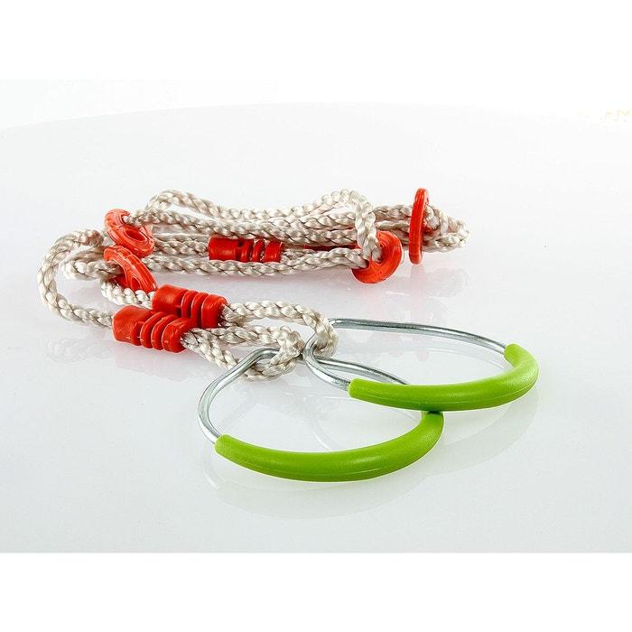 paire d 39 anneaux en acier accessoire balan oire couleur unique soulet la redoute. Black Bedroom Furniture Sets. Home Design Ideas