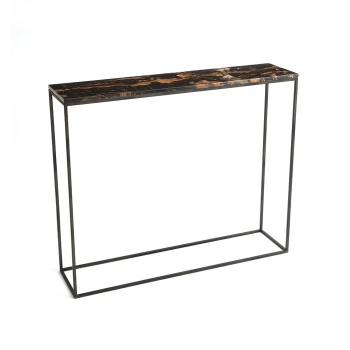 console in amber marmer en metaal l90 cm ambrette am pm la redoute. Black Bedroom Furniture Sets. Home Design Ideas