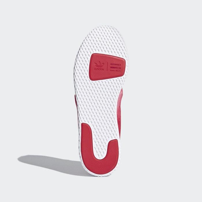 Chaussure pharrell williams tennis hu rouge Adidas Originals