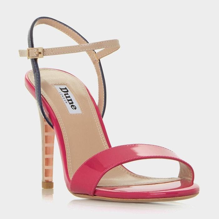 Sandales en deux parties à talons hauts - matiilde  multicolore cuir Dune London  La Redoute