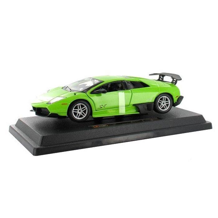 Modèle réduit - Lamborghini Murciélago LP670-4 SV - Collection Star - Echelle 1/24 : Vert BBURAGO