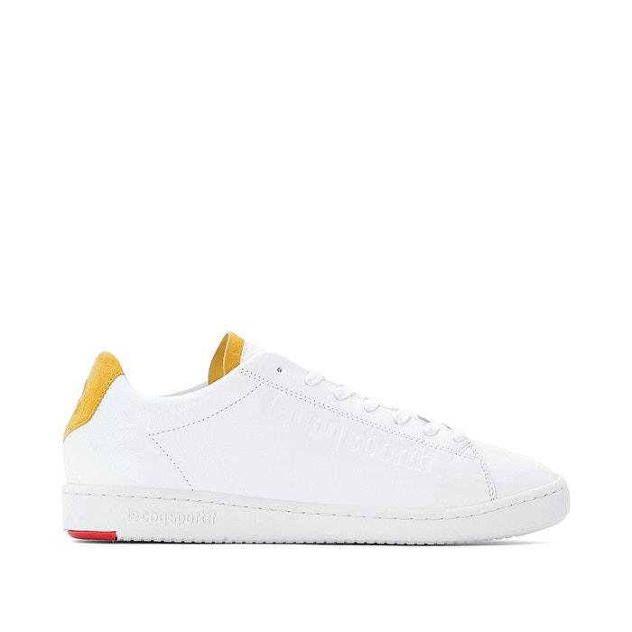 best service b370f 1ba97 Blazon leather trainers , white, Le Coq Sportif   La Redoute