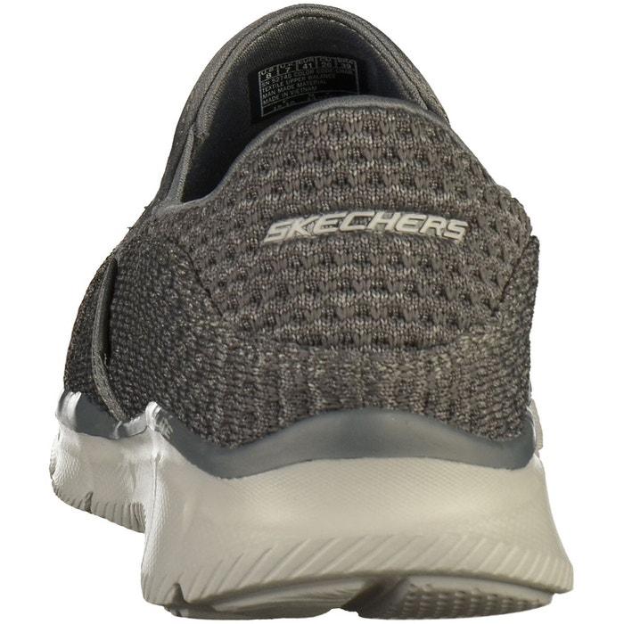 Babouche gris Skechers