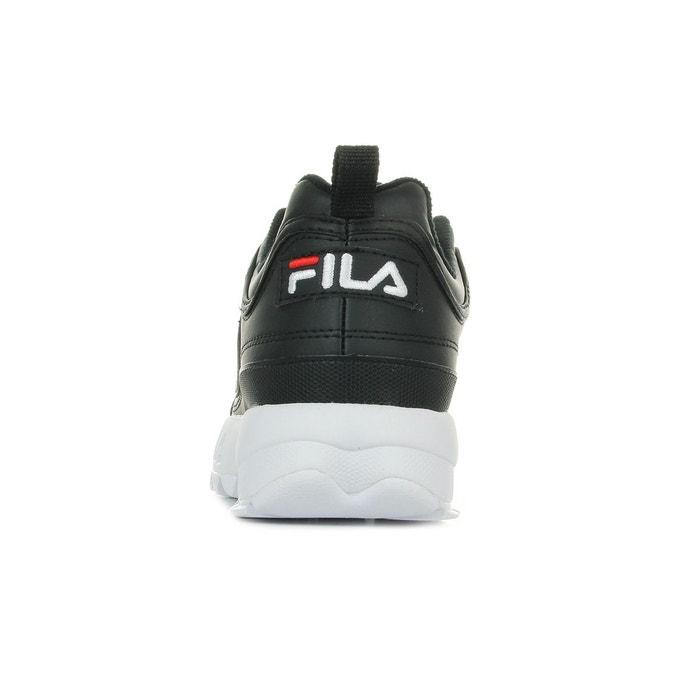 Baskets homme disruptor low noir/blanc Fila