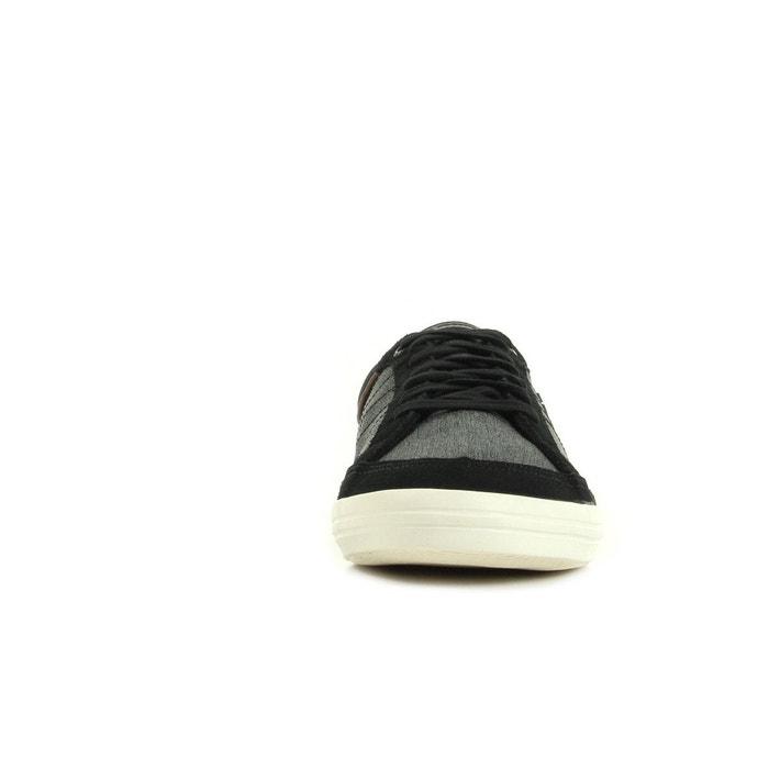 Baskets homme feretcraft 2 tones/suede anthracite, noir, beige Le Coq Sportif