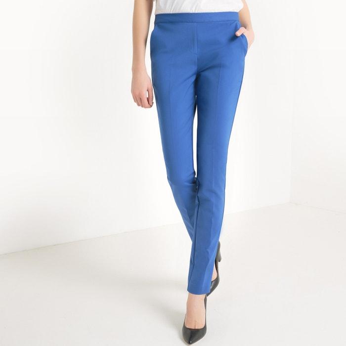 Imagen de Pantalón recto con cintura elástica detrás R essentiel