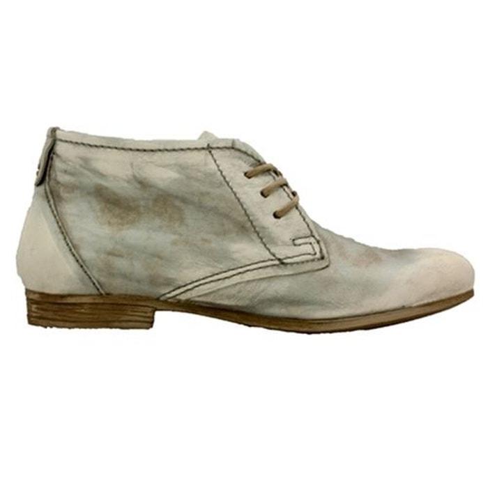 Chaussures à lacets cuir argent Mjus Vente Authentique Vente Livraison Rapide Pas Cher extrêmement DoOogQn