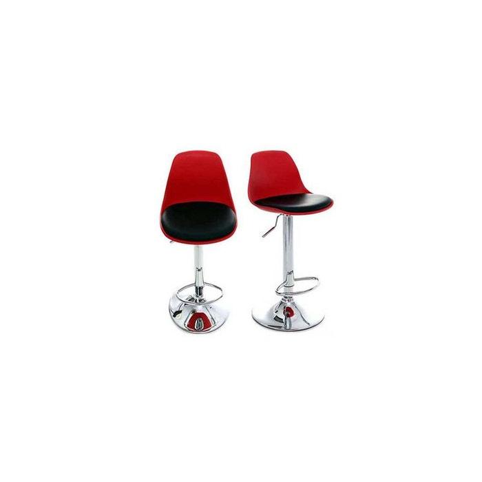 tabouret de bar steevy lot de 2 miliboo la redoute. Black Bedroom Furniture Sets. Home Design Ideas