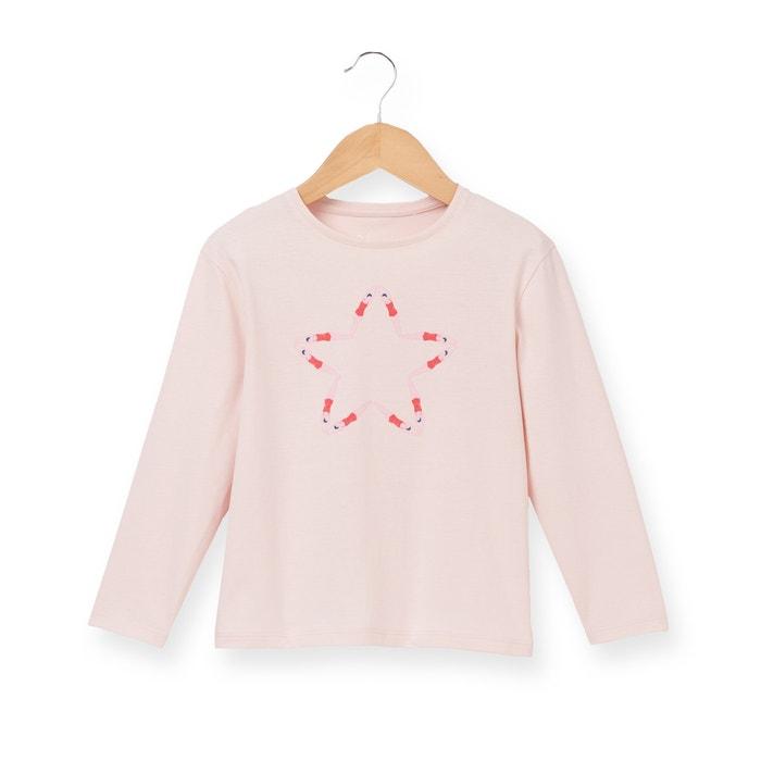 """Image T-shirt """"étoile nageuses"""" manches longues 3-12 ans R essentiel"""