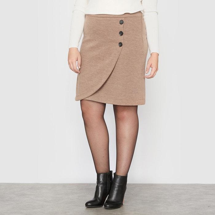 Image Wrap Effect Skirt CASTALUNA