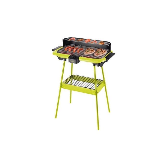 dom297v barbecue electrique sur pieds vert domoclip la. Black Bedroom Furniture Sets. Home Design Ideas