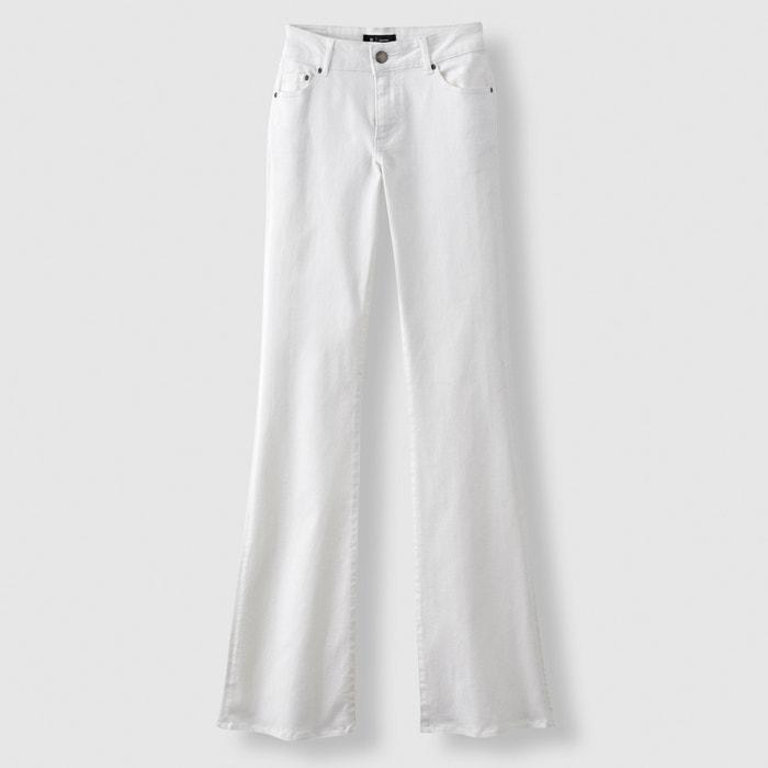Image Jeans flare stretch vita normale lunghezza 34 R essentiel