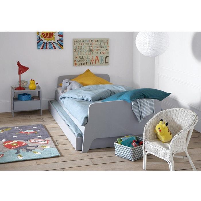 Lit style r tro vintage 1 personne adil la redoute interieurs la redoute - La redoute meuble chambre ...