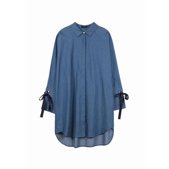 La Frnch Bleu Robe Amenie Redoute Xoznrwoqzy 6gy7Ybf