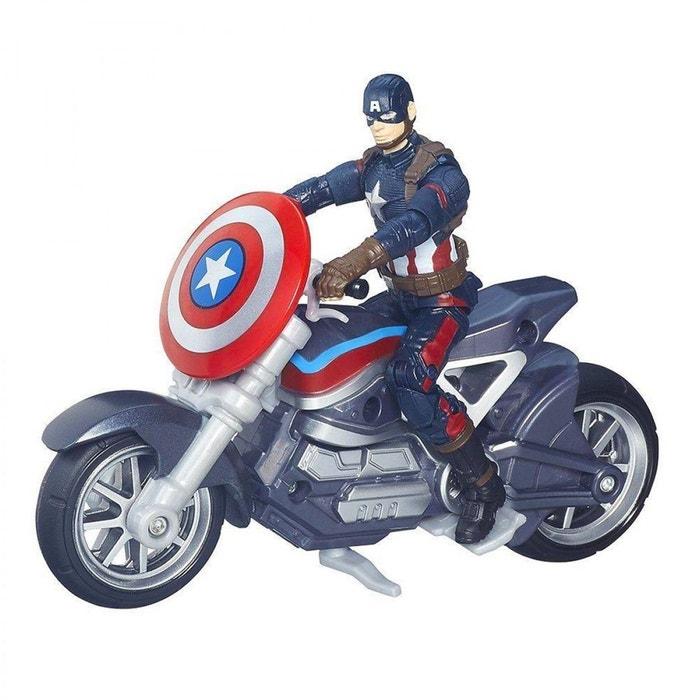 avengers figurine captain america avec moto hasb6354eu40 hasbro la redoute. Black Bedroom Furniture Sets. Home Design Ideas
