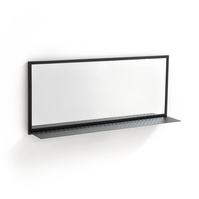 Rectangular Mirror with Metal Shelf  La Redoute Interieurs image 0