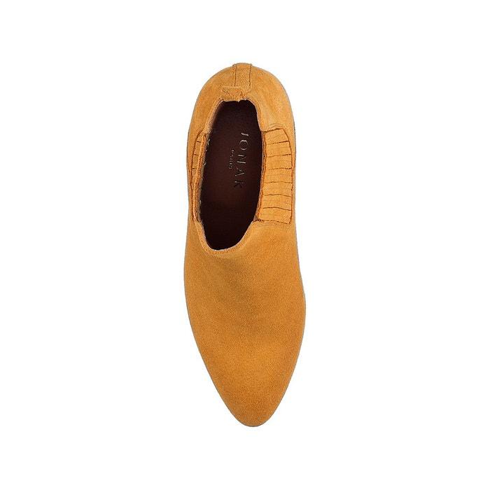 Boots cuir debina jaune moutarde Jonak | La Redoute