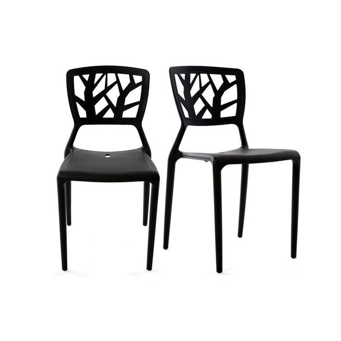 Chaises Design Empilables Intrieur Extrieur Lot De 2 KATIA MILIBOO