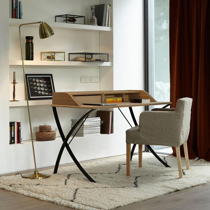 Chaise victor pur lin lot de 2 am pm la redoute for La redoute chaise de bureau