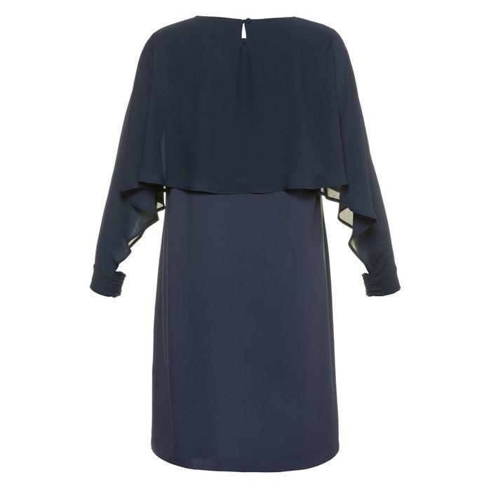 Short-Sleeved Printed Midi Shift Dress  ULLA POPKEN image 0