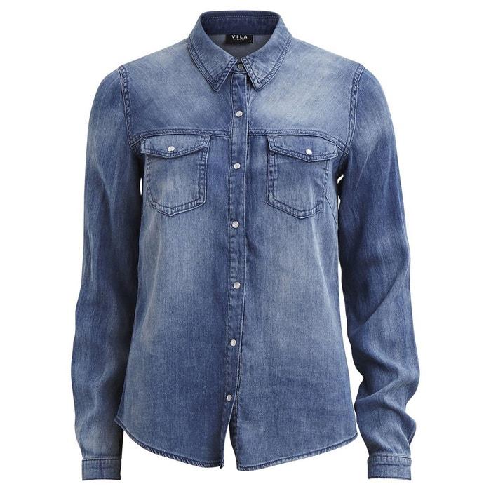 Washed Denim Shirt  VILA image 0
