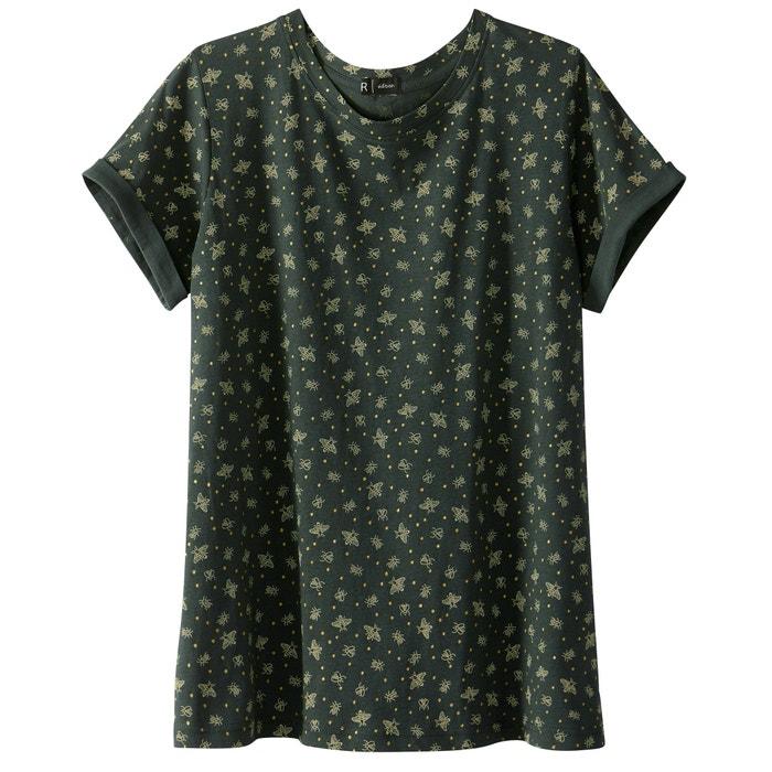 afbeelding T-shirt met ronde hals R édition