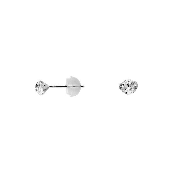 En Gros Boucles d'oreilles or 375/1000 oxyde blanc Cleor | La Redoute Acheter Style De Mode Pas Cher 66tJmRRfK