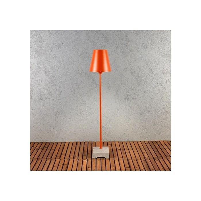 Eclairage Terrasse Orange Alibi Lampe Exterieur A Brancher Noir