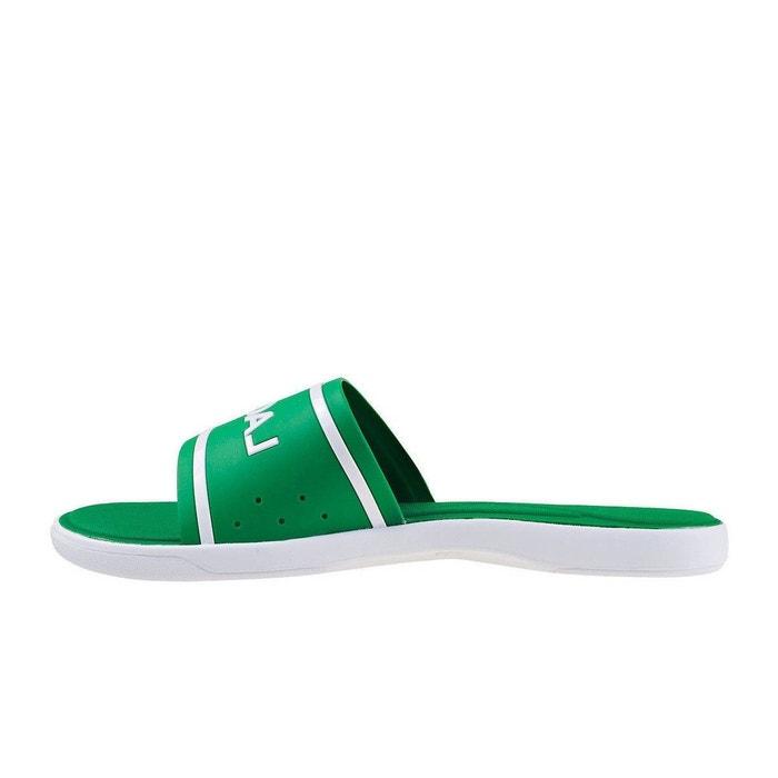0473baee0d2 Sandale l.30 slide 118 3 cam synthétique vert Lacoste