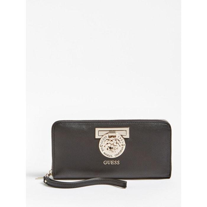 d12248c704 Portefeuille marlene breloque logo noir Guess | La Redoute