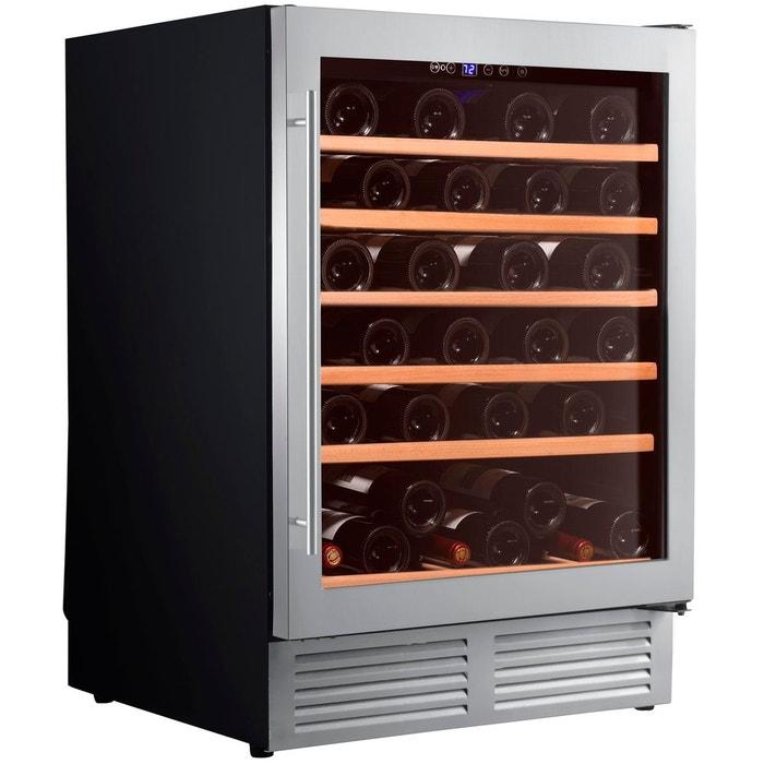 cave vin de service 1 temp 51 bouteilles noir aci cli573 couleur unique climadiff. Black Bedroom Furniture Sets. Home Design Ideas