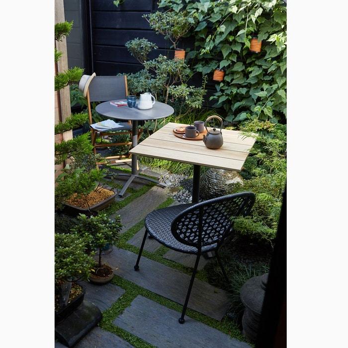 Chaise de jardin pliante lot de 2 exodor la redoute - La redoute salon de jardin ...