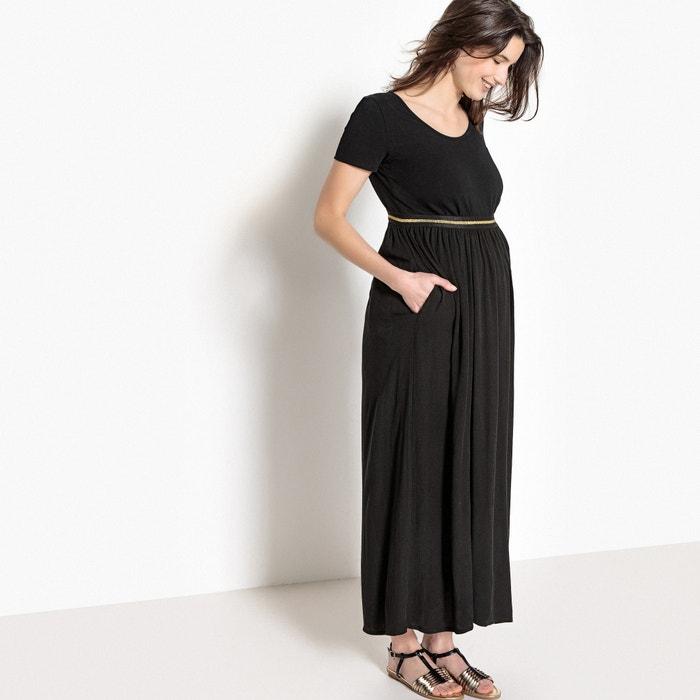 jupe longue de grossesse lastique fantaisie la redoute maternit la redoute. Black Bedroom Furniture Sets. Home Design Ideas