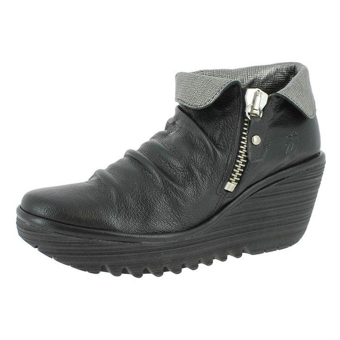 FLY FLY FLY LONDON cuir boots cuir bottines LONDON boots bottines XUZq4rwXWR