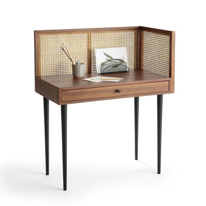 bureau vintage en cannage noya noyer la redoute interieurs la redoute. Black Bedroom Furniture Sets. Home Design Ideas